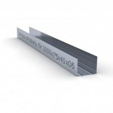 Профиль направляющий ПН 75*40мм КНАУФ (3м.) (KNAUF)