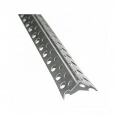 Уголок перфорированный алюминиевый 20*20мм 3м