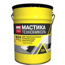 Мастика № 24 гидроизоляционная МГТН (Технониколь) (20кг) 1кг/м2