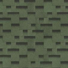 Гибкая черепица Шинглас, серия Финская, Аккорд цвет зеленый