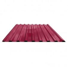 Профнастил лист С-20 цвет вишня 1050х2000х0,35мм