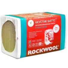 Роквул Акустик Баттс Звукоизоляция 1000х600х100мм (3м2)